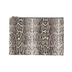 Snake Skin Cosmetic Bag (large)  by LoolyElzayat