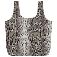 Snake Skin Full Print Recycle Bags (l)  by LoolyElzayat