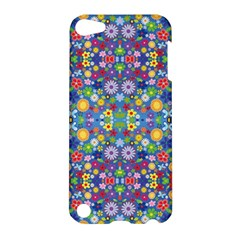 Colorful Flowers Apple Ipod Touch 5 Hardshell Case