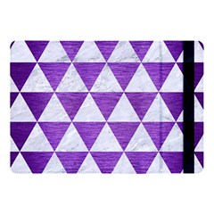 Triangle3 White Marble & Purple Brushed Metal Apple Ipad Pro 10 5   Flip Case by trendistuff