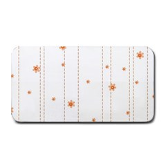 Background Salmon Pink White Motive Medium Bar Mats by Sapixe