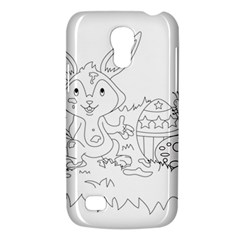 Coloring Picture Easter Easter Bunny Galaxy S4 Mini by Sapixe