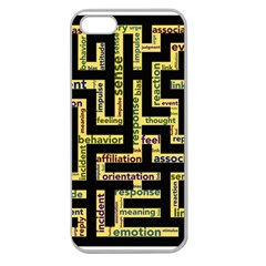 Mindset Stimulus Response Emotion Apple Seamless Iphone 5 Case (clear)