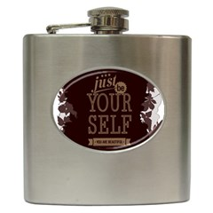 Encourage Motivation Tackle Things Hip Flask (6 Oz)