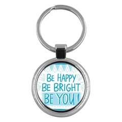 Motivation Positive Inspirational Key Chains (round)  by Sapixe