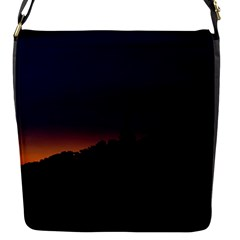 Nature Night Colorful Landscape Flap Messenger Bag (s)