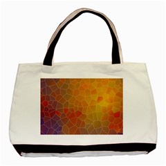 Colors Modern Contemporary Graphic Basic Tote Bag by Sapixe