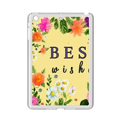 Best Wishes Yellow Flower Greeting Ipad Mini 2 Enamel Coated Cases