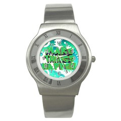 Gears Gear Interaction Act Do Stainless Steel Watch by Sapixe