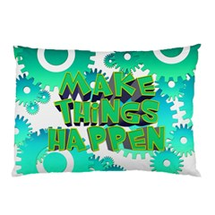 Gears Gear Interaction Act Do Pillow Case (two Sides) by Sapixe