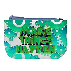 Gears Gear Interaction Act Do Large Coin Purse by Sapixe