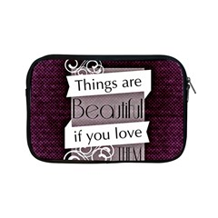 Beautiful Things Encourage Apple Ipad Mini Zipper Cases by Sapixe