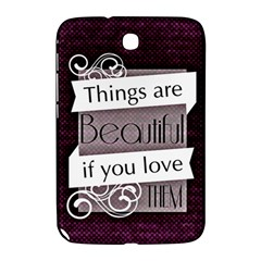 Beautiful Things Encourage Samsung Galaxy Note 8 0 N5100 Hardshell Case  by Sapixe