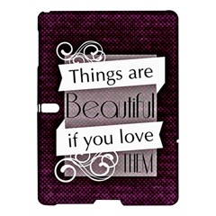 Beautiful Things Encourage Samsung Galaxy Tab S (10 5 ) Hardshell Case