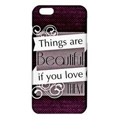 Beautiful Things Encourage Iphone 6 Plus/6s Plus Tpu Case by Sapixe