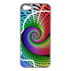 Head Spiral Self Confidence Apple Iphone 5 Case (silver) by Sapixe