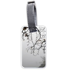 Tree Nature Landscape Luggage Tags (one Side)