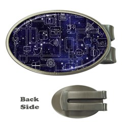 Networks Internet Social Money Clips (oval)