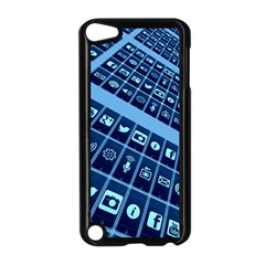 Mobile Phone Smartphone App Apple Ipod Touch 5 Case (black) by Sapixe