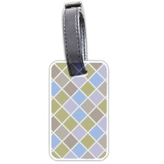 Background Paper Texture Motive Luggage Tags (one Side)  by Sapixe