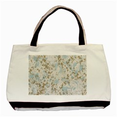 Background Texture Motive Paper Basic Tote Bag (two Sides)