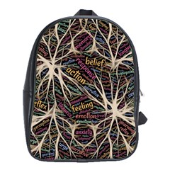 Mental Human Experience Mindset School Bag (xl)