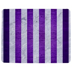 Stripes1 White Marble & Purple Brushed Metal Jigsaw Puzzle Photo Stand (rectangular) by trendistuff