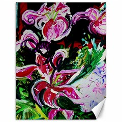 Lilac And Lillies 3 Canvas 12  X 16   by bestdesignintheworld