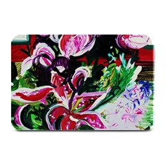 Lilac And Lillies 3 Plate Mats by bestdesignintheworld