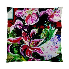 Lilac And Lillies 3 Standard Cushion Case (two Sides) by bestdesignintheworld