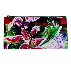 Lilac And Lillies 3 Pencil Cases by bestdesignintheworld
