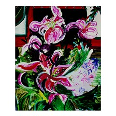 Lilac And Lillies 3 Shower Curtain 60  X 72  (medium)  by bestdesignintheworld