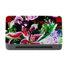 Lilac And Lillies 3 Memory Card Reader With Cf by bestdesignintheworld