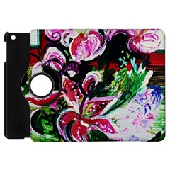 Lilac And Lillies 3 Apple Ipad Mini Flip 360 Case by bestdesignintheworld