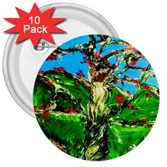 Coral Tree 2 3  Buttons (10 Pack)  by bestdesignintheworld