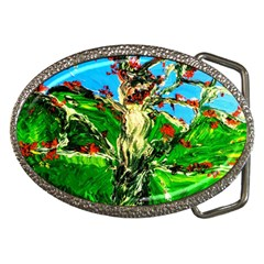 Coral Tree 2 Belt Buckles by bestdesignintheworld