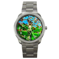 Coral Tree 2 Sport Metal Watch
