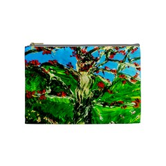 Coral Tree 2 Cosmetic Bag (medium)  by bestdesignintheworld
