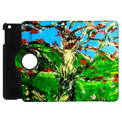 Coral Tree 2 Apple Ipad Mini Flip 360 Case by bestdesignintheworld