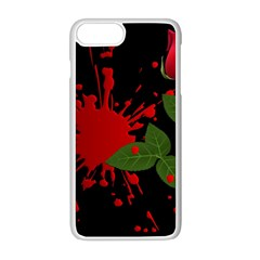 Background Texture Stain Apple Iphone 8 Plus Seamless Case (white) by Sapixe