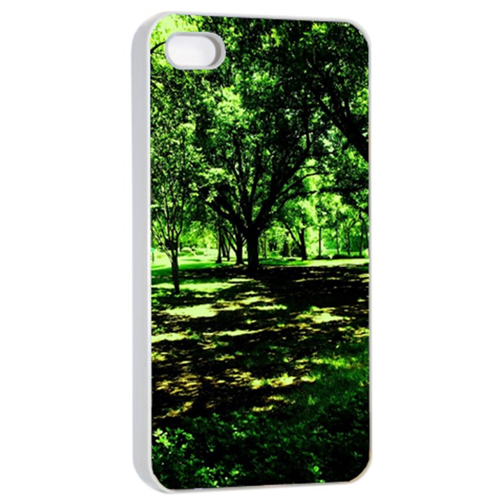 Hot Day In Dallas 26 Apple iPhone 4/4s Seamless Case (White)