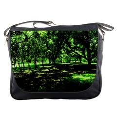 Hot Day In Dallas 26 Messenger Bags by bestdesignintheworld