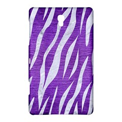 Skin3 White Marble & Purple Brushed Metal Samsung Galaxy Tab S (8 4 ) Hardshell Case  by trendistuff