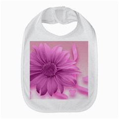 Flower Design Romantic Bib