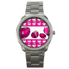 Love Celebration Easter Hearts Sport Metal Watch