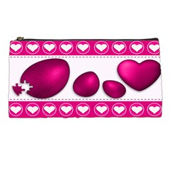 Love Celebration Easter Hearts Pencil Cases