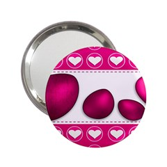 Love Celebration Easter Hearts 2 25  Handbag Mirrors by Sapixe