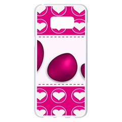 Love Celebration Easter Hearts Samsung Galaxy S8 Plus White Seamless Case
