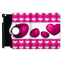 Love Celebration Easter Hearts Apple Ipad 2 Flip 360 Case