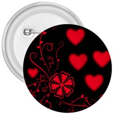 Background Hearts Ornament Romantic 3  Buttons
